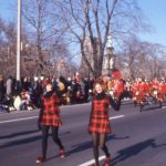 Malvern Band on parade in 1974